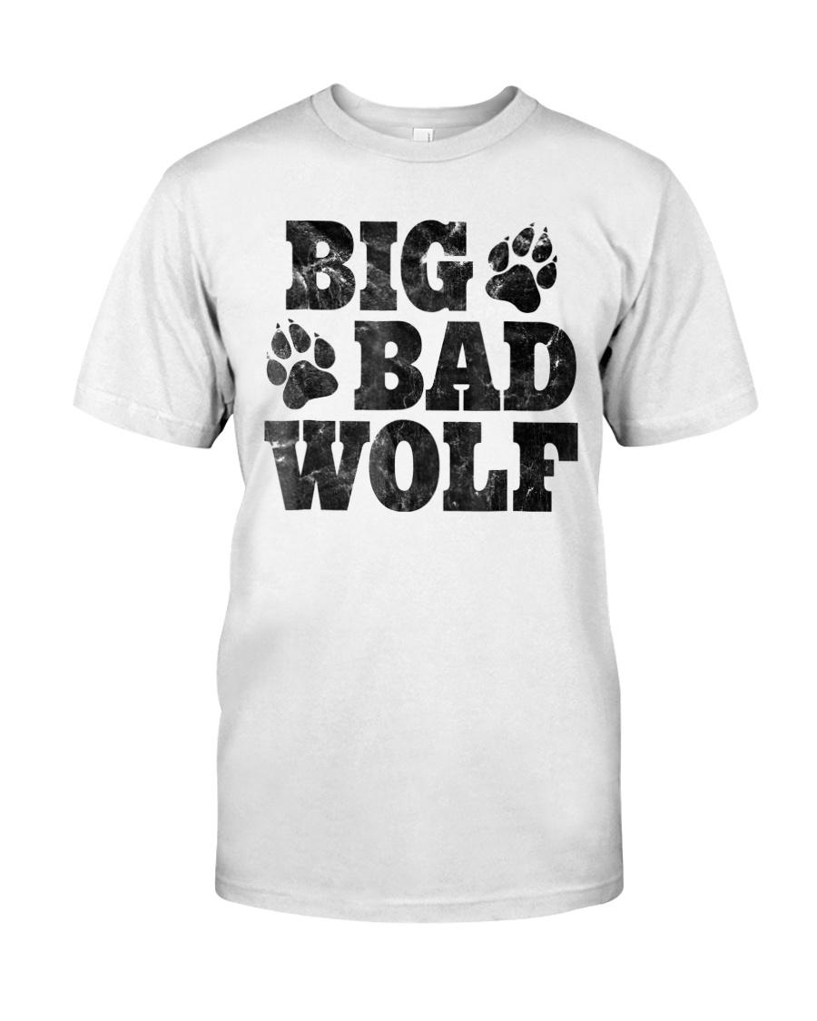 Womens Big Bad Wolf T-Shirt Classic T-Shirt