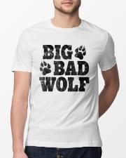 Womens Big Bad Wolf T-Shirt Classic T-Shirt lifestyle-mens-crewneck-front-13