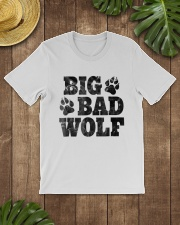 Womens Big Bad Wolf T-Shirt Classic T-Shirt lifestyle-mens-crewneck-front-18