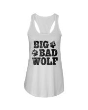Womens Big Bad Wolf T-Shirt Ladies Flowy Tank thumbnail
