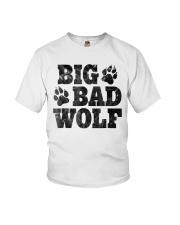 Womens Big Bad Wolf T-Shirt Youth T-Shirt thumbnail