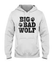 Womens Big Bad Wolf T-Shirt Hooded Sweatshirt thumbnail
