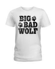Womens Big Bad Wolf T-Shirt Ladies T-Shirt thumbnail