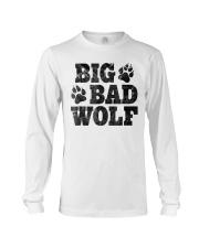 Womens Big Bad Wolf T-Shirt Long Sleeve Tee thumbnail