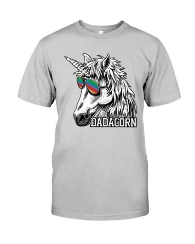 Dadacorn Unicorn Dad T-Shirt