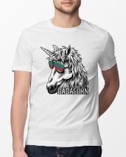 Dadacorn Unicorn Dad T-Shirt Classic T-Shirt lifestyle-mens-crewneck-front-13