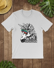 Dadacorn Unicorn Dad T-Shirt Classic T-Shirt lifestyle-mens-crewneck-front-18