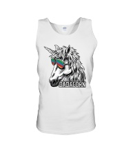 Dadacorn Unicorn Dad T-Shirt Unisex Tank tile