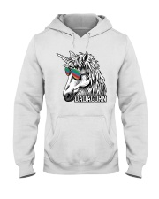 Dadacorn Unicorn Dad T-Shirt Hooded Sweatshirt tile