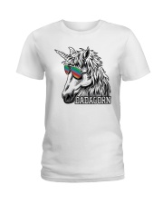 Dadacorn Unicorn Dad T-Shirt Ladies T-Shirt thumbnail
