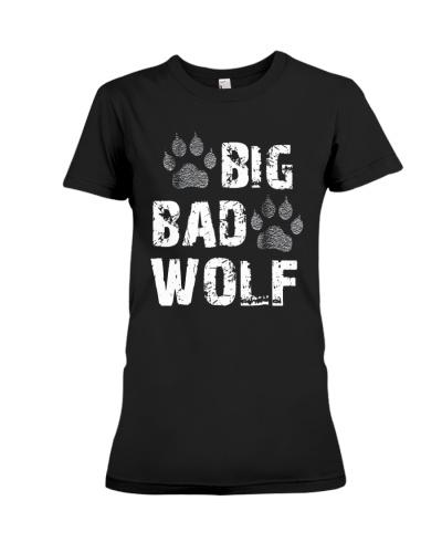 Big Bad Wolf Distressed Gift Shirt