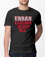 Urban Legends Never Die Unisex T-Shirt Classic T-Shirt lifestyle-mens-crewneck-front-13