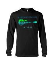 Whisper Words Of Wisdom Let It Be T-Shirt Long Sleeve Tee thumbnail