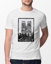 Notre Dame Cathedral Paris Shirt Classic T-Shirt lifestyle-mens-crewneck-front-13