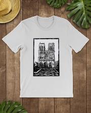 Notre Dame Cathedral Paris Shirt Classic T-Shirt lifestyle-mens-crewneck-front-18