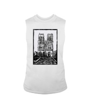Notre Dame Cathedral Paris Shirt Sleeveless Tee thumbnail