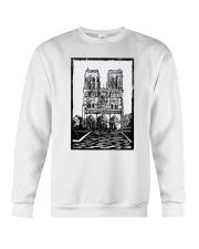 Notre Dame Cathedral Paris Shirt Crewneck Sweatshirt thumbnail