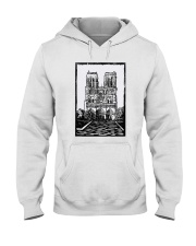 Notre Dame Cathedral Paris Shirt Hooded Sweatshirt thumbnail