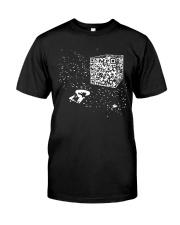 QR Code Cube We Are The Borg TShirt Premium Fit Mens Tee thumbnail