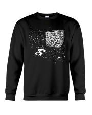 QR Code Cube We Are The Borg TShirt Crewneck Sweatshirt thumbnail