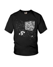 QR Code Cube We Are The Borg TShirt Youth T-Shirt thumbnail