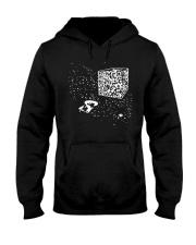 QR Code Cube We Are The Borg TShirt Hooded Sweatshirt thumbnail