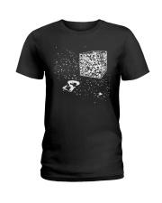 QR Code Cube We Are The Borg TShirt Ladies T-Shirt thumbnail