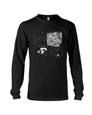 QR Code Cube We Are The Borg TShirt Long Sleeve Tee thumbnail