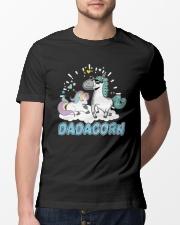 Dadacorn T-Shirt Classic T-Shirt lifestyle-mens-crewneck-front-13