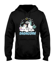 Dadacorn T-Shirt Hooded Sweatshirt front