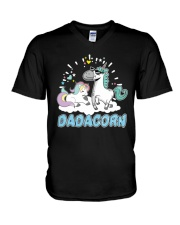 Dadacorn T-Shirt V-Neck T-Shirt tile