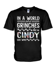 In A World Full Of Grinches Tee Shirt V-Neck T-Shirt thumbnail