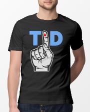 T1D Shirt Type 1 Diabetes Awareness Tee Classic T-Shirt lifestyle-mens-crewneck-front-13