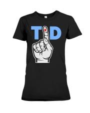T1D Shirt Type 1 Diabetes Awareness Tee Premium Fit Ladies Tee thumbnail