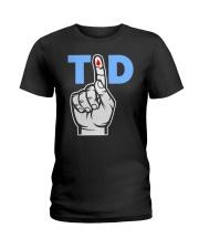 T1D Shirt Type 1 Diabetes Awareness Tee Ladies T-Shirt thumbnail