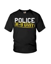 Mens Police K-9 Unit T-Shirt Youth T-Shirt thumbnail