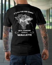 Someone Loses A Walleye Classic T-Shirt lifestyle-mens-crewneck-back-3