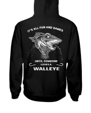 Someone Loses A Walleye Hooded Sweatshirt back