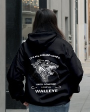 Someone Loses A Walleye Hooded Sweatshirt lifestyle-unisex-hoodie-back-2