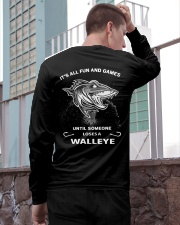Someone Loses A Walleye Long Sleeve Tee apparel-long-sleeve-tee-lifestyle-02