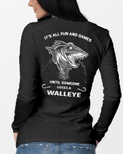 Someone Loses A Walleye Long Sleeve Tee lifestyle-unisex-longsleeve-back-3