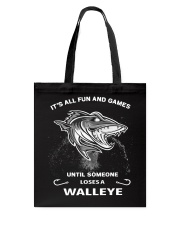 Someone Loses A Walleye Tote Bag thumbnail