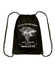 Someone Loses A Walleye Drawstring Bag thumbnail