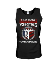Lineman - Worn Out Poles  Unisex Tank thumbnail