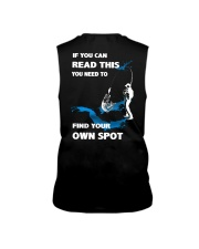 Fishing - Find Your Own Spot Sleeveless Tee thumbnail