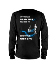 Fishing - Find Your Own Spot Long Sleeve Tee back