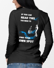 Fishing - Find Your Own Spot Long Sleeve Tee lifestyle-unisex-longsleeve-back-3