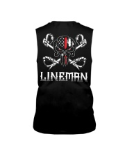 Thin Red Line Lineman American Flag Sleeveless Tee thumbnail