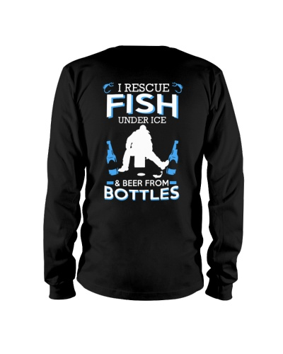 I RESCUE FISH UNDER ICE AND BEER FROM BOTTLE
