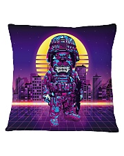 80s Retro Cat Soldier Square Pillowcase front